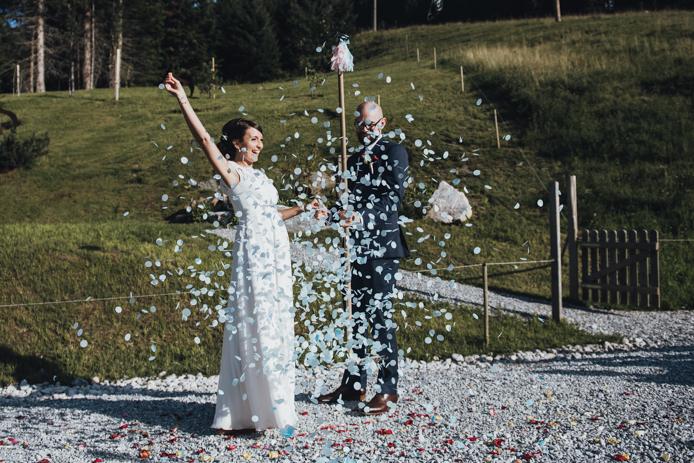 Berg und Hochzeiten. Das licht in den Bergen bei Hochzeiten ist besonders schön, Bergfotograf Fotografie