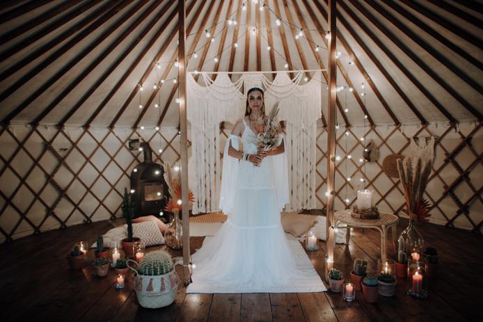 Boho Hochzeit @Claudia Weaver