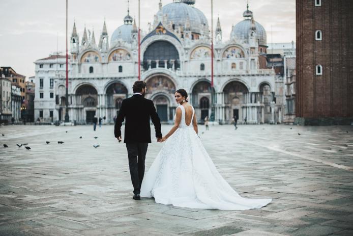 TFP-Shooting / Wedding in Venice / Heiraten in Venidig / Klassische Hochzeit / Prinzessin / Italien / Wedding in Italy / Romantic in Venice ©Claudia Weaver
